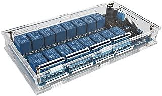 SainSmart 16-CH Relay Module with Acrylic Case