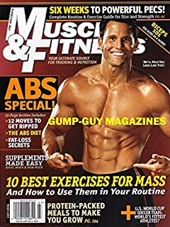 Muscle & Fitness July 2006 Magazine U.S. WORLD CUT SOCCER TEAM: WORLD'S FITTEST ATHLETES? Abs Special ROAD TO THE OLYMPICS: IT'S RONNIE COLEMAN VS. THE RECORD BOOKS