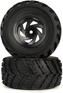 HBX RC Car Spare Parts Apply for 18859E Wheels Complete High Grip Off-Road Tires Sponge Filling
