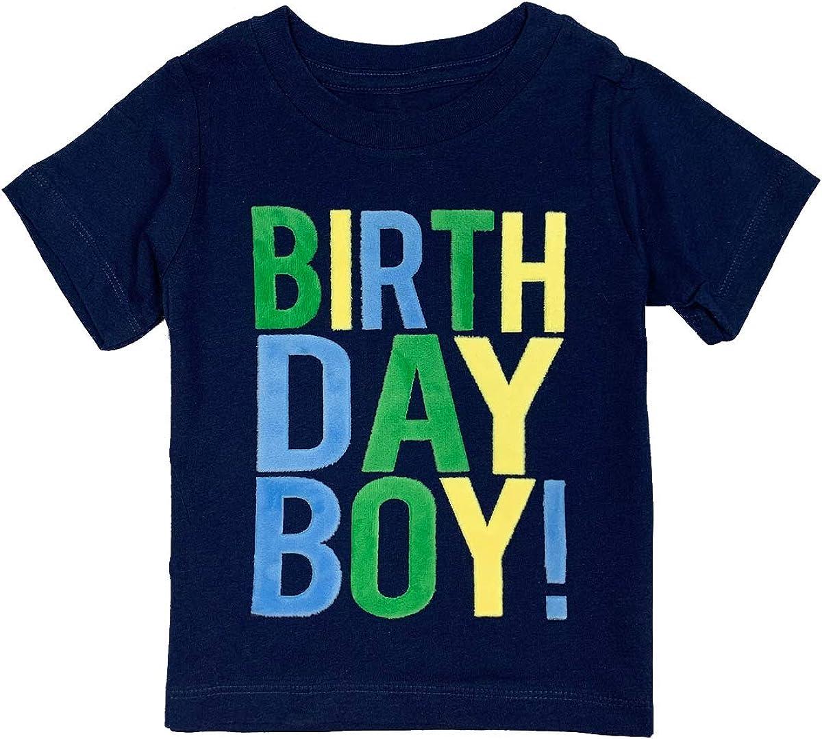 SoRock Birthday Max 60% OFF Boy Toddler Kids T-Shirt 2nd 1 year warranty 3rd 4th 1st 5th