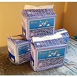 48 Diapers - DC Idyl (2017) - Medium/Large - Light Blue Theme! Plastic-Backed Adult Baby (Medium)