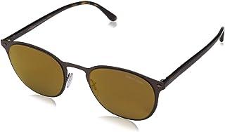 Emporio Armani - Armani 0AR6062 31917D 51 Gafas de sol, Marrón (Matte Brown/Brownmirrorbronze), Hombre