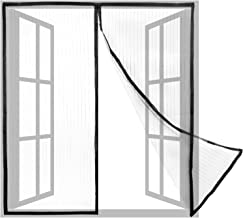 PrimeMatik - Klamboe voor raam 130 x 150 cm met magnetische sluiting
