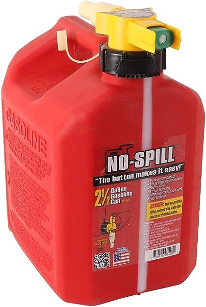 No-Spill 1405 2-1/2-Gallon Poly Gas Can: image
