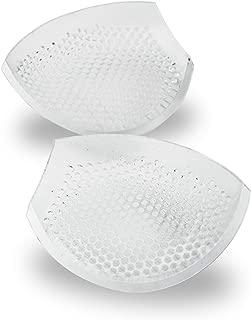 Women Breathable Silicone Bra Inserts—Honeycomb Silicone Bra Inserts Semi-Adhesive Breast Enhancer Bra Pad