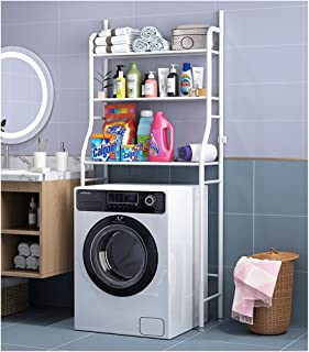 Supports de toilettes pour toilettes, supports de rangement sans perforations au-dessus du lave-linge, supports de rangeme...