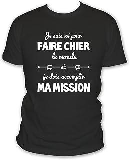 ee334f47bb365 Amazon.fr : tee shirt humour : Vêtements