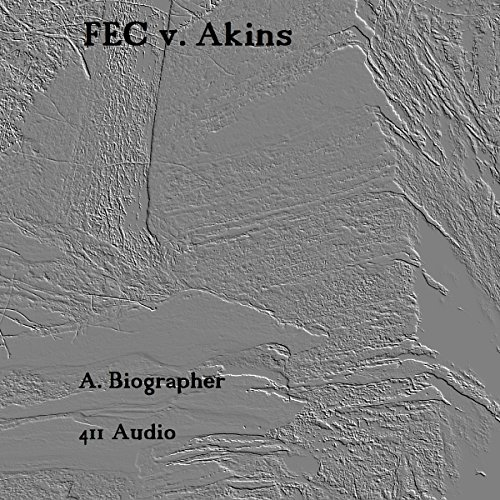 FEC v. Akins audiobook cover art