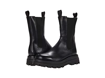 Steve Madden Explorer Boot (Black Leather) Women