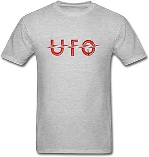 SUNRAIN Men's UFO Band Logo T Shirt S