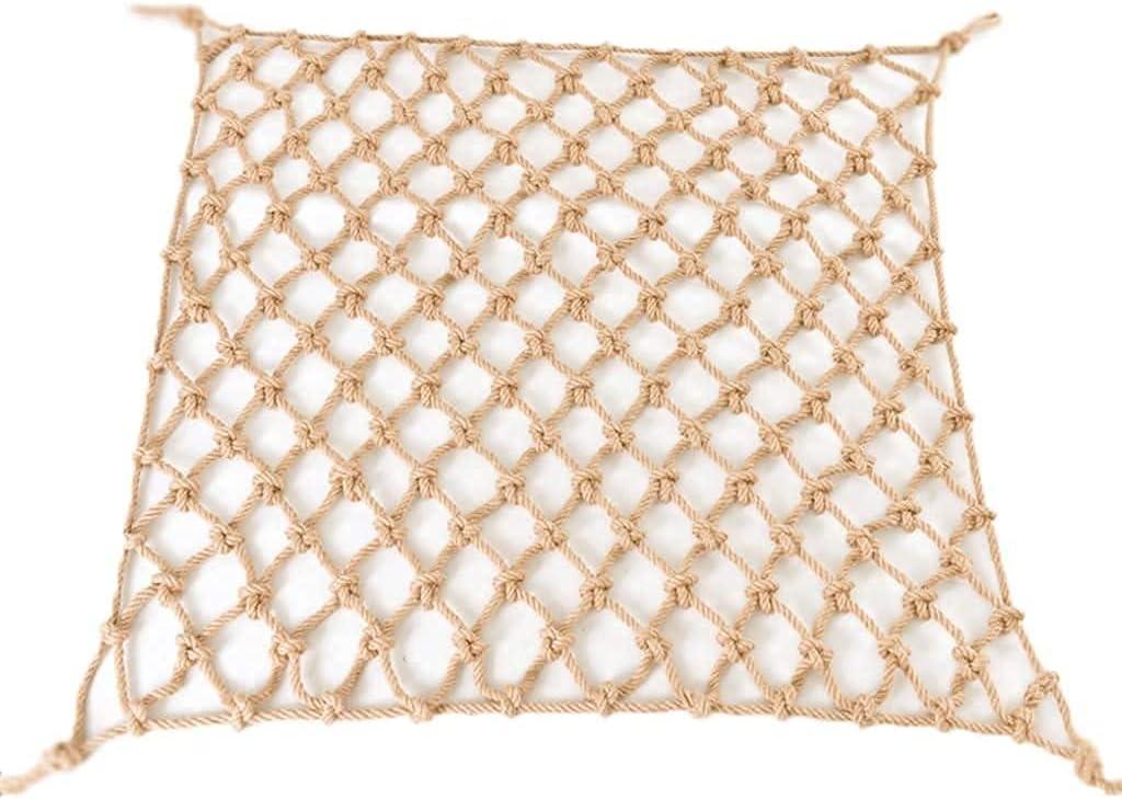 LXM Hemp Fashion Directly managed store Rope Grid Decorative Net Ceiling
