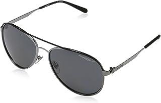 نظارات شمسية للرجال من ارنيت بلون رمادي 3071 679/81 58