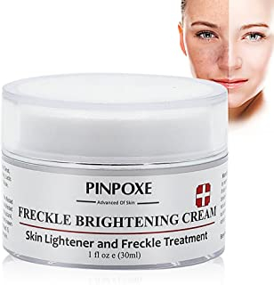 Skin Brightening Cream,Freckle cream,Dark Spot Corrector Remover,Removes Hyperpigmentation Reduces Melasma Lightens