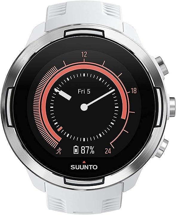 Orologio gps multisport batteria lunga durata e misurazione della frequenza cardiaca al polso suunto 9 baro SS050021000