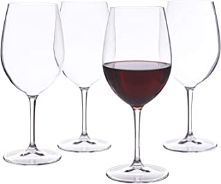 Franc Acrylic Red Wine Stems | set of 4