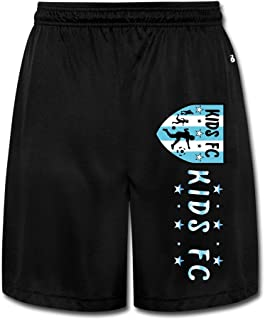 GLK300 Geek Kids FC Shorts Training Pants For Mens Black
