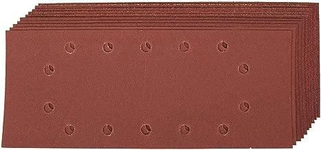 Madera 1//3 93 x 190mm yeso pintura barniz Grano 240 Autoadherentes 5 hojas de lija perforadas Black+Decker X31527-XJ metal y pl/ástico.