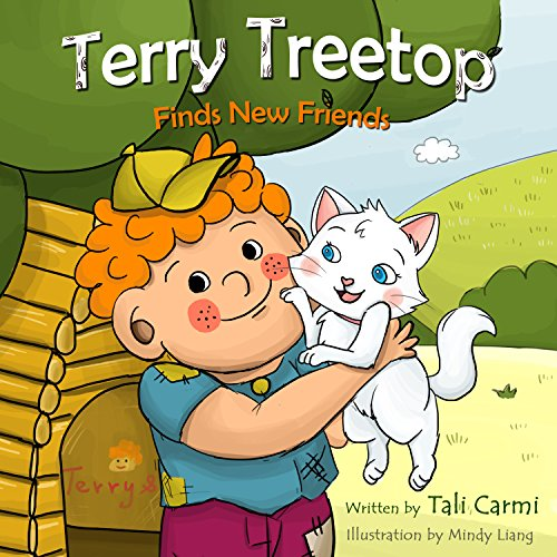 Terry Treetop Finds New Friends audiobook cover art