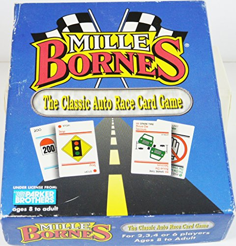 Vintage 1998 Mille Bornes Game by WInning Moves/Parker Brothers