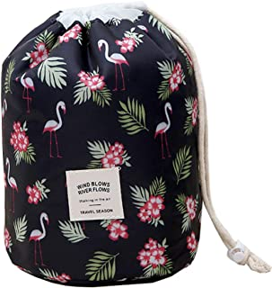 Makeup Bag, YJQueen Travel Makeup Cosmetic Pouch Portable Handbag Toiletry Case Mini Makeup Train Case Cosmetic Bag Cosmet...