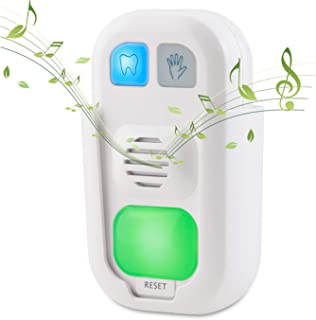 HONWELL Timer for Kids Battery Powered Musical 2 Minute Tooth Brushing Timer and 20 Seconds Bathroom Hand Wash Timer with ...