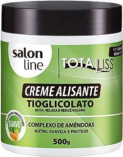 Creme Alisante - Total Liss Normal Pote, 500 gr, Salon Line, Salon Line