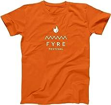 FYRE FESTIVAL ORANGE Party music bahamas fest Black Crewneck Sweatshirt