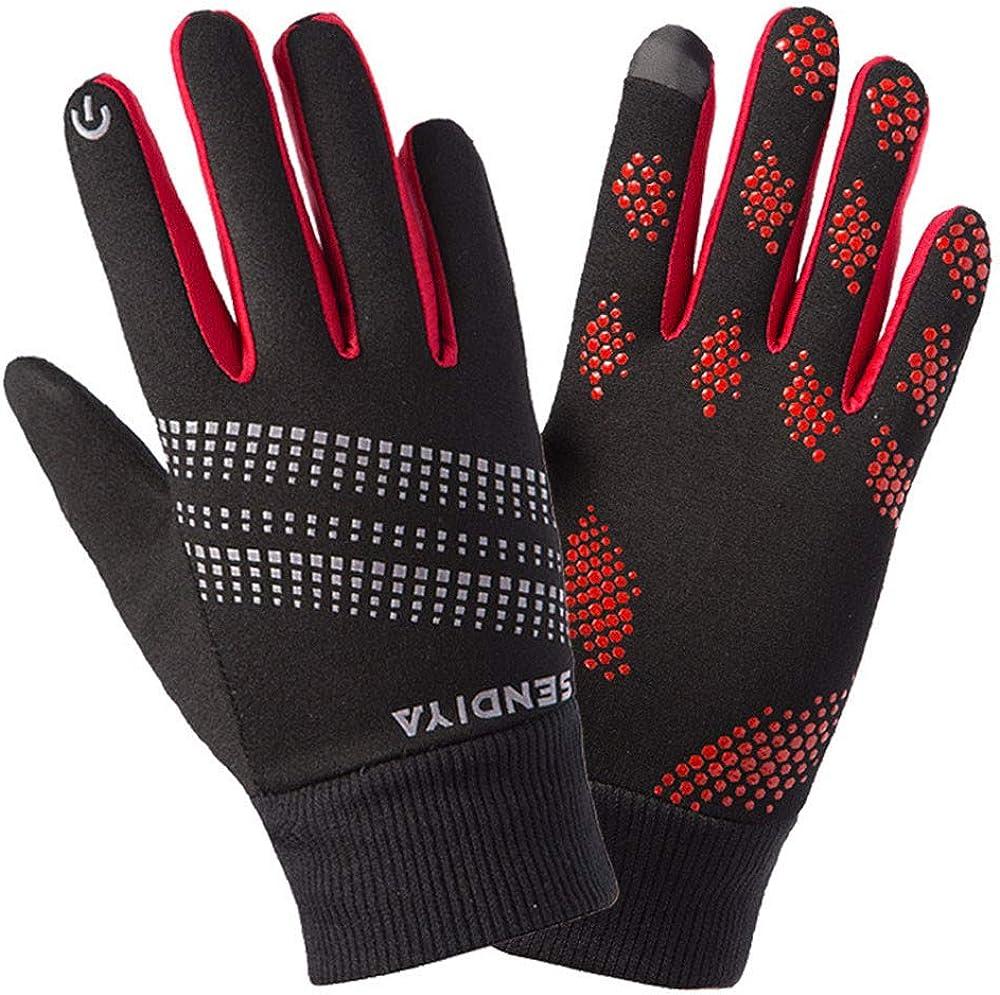 Winter Gloves for Men Women,Winter Warm Gloves Waterproof Gloves Winter Gloves Touchscreen for Cycling
