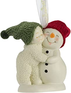 "Department 56 Snowbabies ""Hug Me!"" Porcelain Ornament, 2.75"""