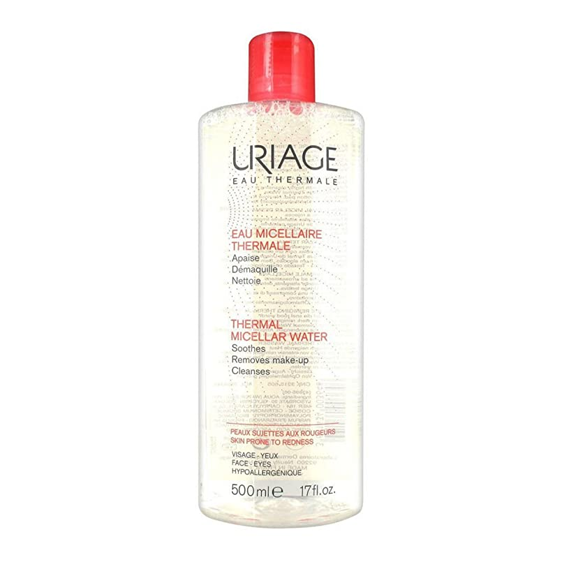 思いやりのある千ステッチUriage Thermal Micellar Water Skin Prone To Redness 500ml [並行輸入品]
