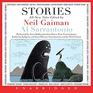 Stories     All-New Tales              By:                                                                                                                                 Neil Gaiman (author and editor),                                                                                        Al Sarrantonio (editor),                                                                                        Joe Hill,                   and others                          Narrated by:                                                                                                                                 Anne Bobby,                                                                                        Jonathan Davis,                                                                                        Katherine Kellgren,                   and others                 Length: 18 hrs and 16 mins     65 ratings     Overall 3.8
