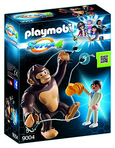 Playmobil Super 4 - Gorila Gigante Gonk - 9004