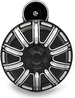 Arlen Ness 70-250 Black 10 Gauge Billet Horn Kit