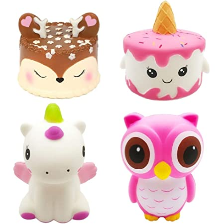 Decorative Props Large Mikilon 11.5 Super Jumbo Squishy Kawaii Cute Giant Ice Cream Cone Scented Squishies Slow Rising Kids Toys Doll Stress Relief Toy Hop Props Pink and Coffee