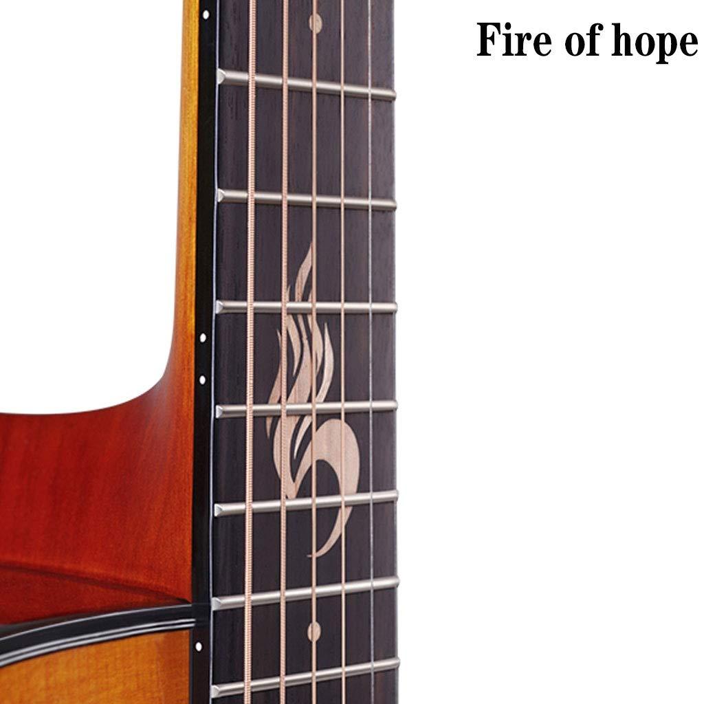 Instrumentos musicales Guitarra Guitarra De Una Sola Placa Bruce ...