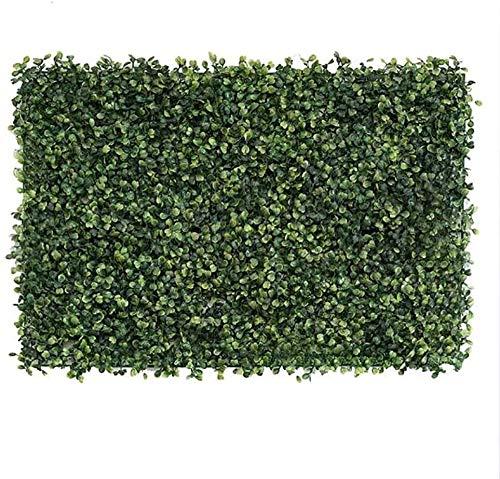 ANyun Valla decorativa de 40 x 60 cm, paneles de protección para la privacidad del jardín al aire libre, pantallas artificiales ampliables de hojas simuladas de setos, pantalla 11.30