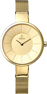 Obaku Women's Dial Mesh Band Watch - V149LAIMC