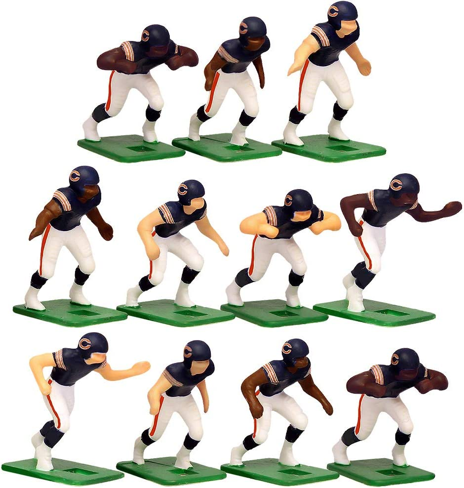 Chicago BearsHome Jersey NFL Action Figure Set