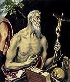 Spiffing Prints EL Greco - Man Mourning - Extra Large -