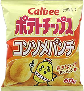 Calbee Poteto Chips Consomme Punch 60grams