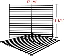 SHINESTAR Grill Grates for Charbroil 463241113, 463411911, Master Forge 1010037, Nexgrill, Kenmore, Set of 2 Porcelain Steel Grill Parts Cooking Grates-(17-1/4 x 13-1/4)
