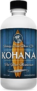 Unscented Kohana Aftershave - Post Shave Moisturizer & Face Lotion for Men with Sensitive Skin - Luxury All-Natural Skin N...