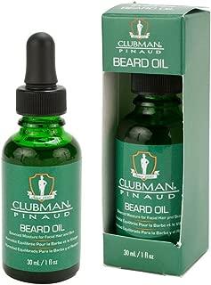 Clubman Pinaud Beard Oil 1 oz. (Pack of 3)