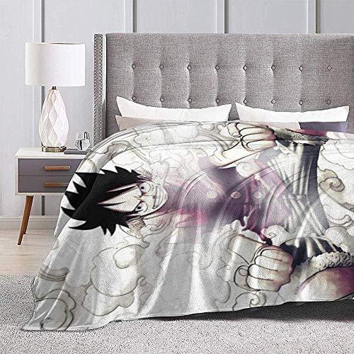 Niet geschikt voor deken Anime One Piece Luffy. Throw Blanket superzachte wollen deken voor thuis, winterdeken, bank, bed, microvezel, bank, auto, decoratief