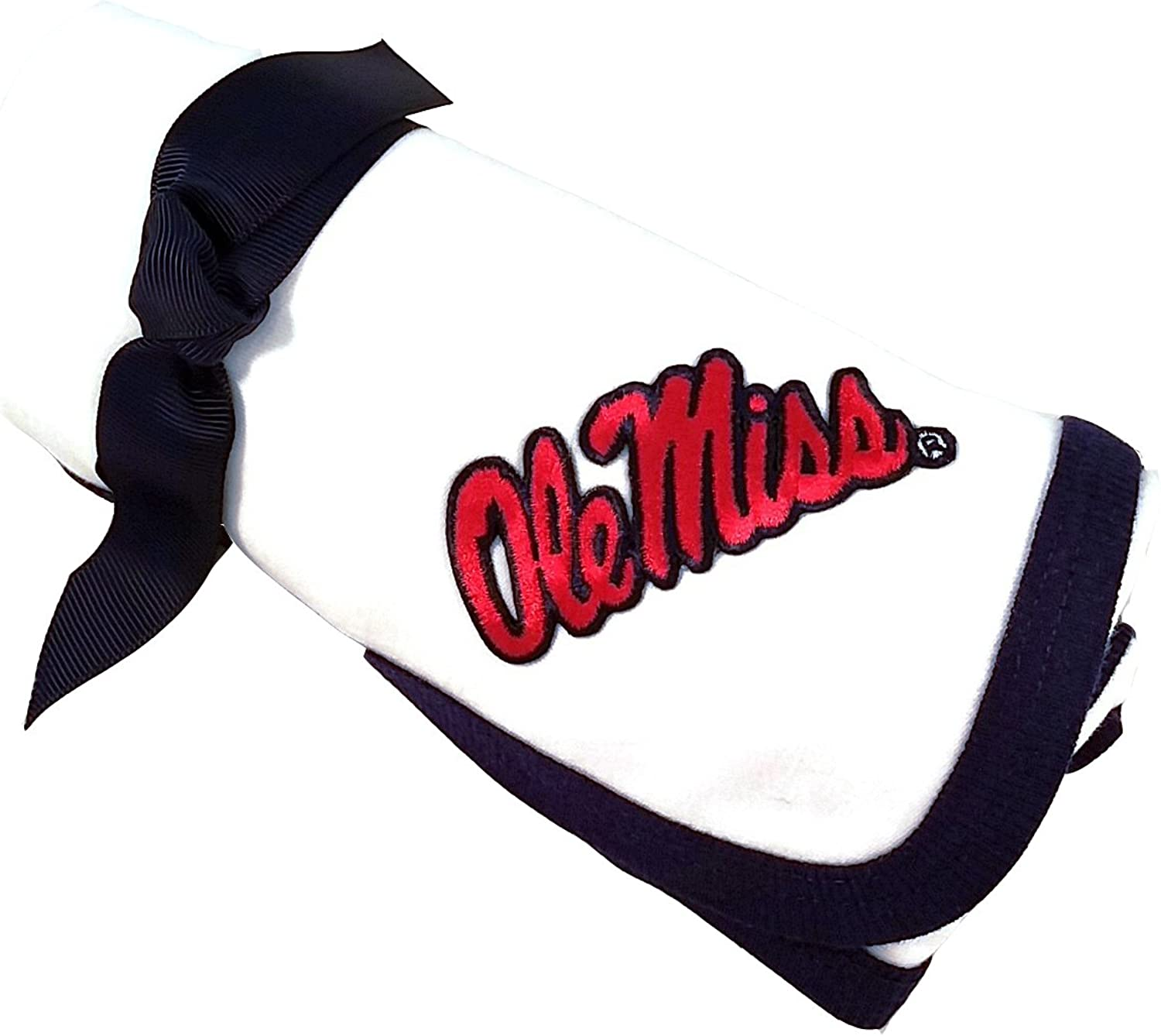 Future Tailgater Mississippi Ole Miss Rebels Baby Receiving Blanket