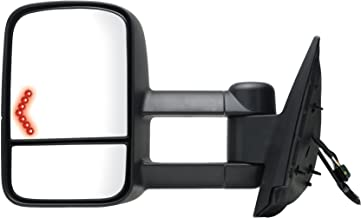 Fit System 62094G Chevrolet/GMC/Cadillac Driver Side Replacement Towing Mirror with Dual Glass and Turn Signal