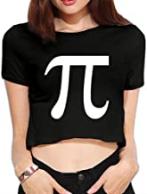 TLK Custom Women Pi Symbol Logo T-shirt