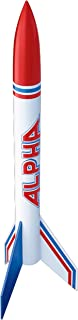 Estes Alpha Flying Model Rocket | Build Your Own Rocket Kit | Soars up to 1000 ft. | Fun Unplugged Family Activity | Great for Hobbyists and Kids 10+