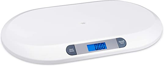 Smart Weigh Comfort Baby Scale with 3 Weighing Modes, 44 Pound Capacity, Accurate Digital..