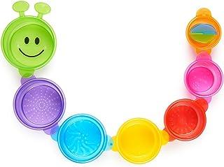 (1, Original Packaging) - Munckin Caterpillar Spillers - Bath Toy